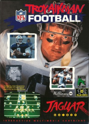 Troy Aikman NFL Football Cover Art