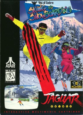 Val d'Isere Skiing and Snowboarding Cover Art