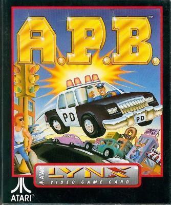 A.P.B. Cover Art