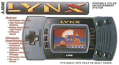 Atari Lynx II Console Cover Art