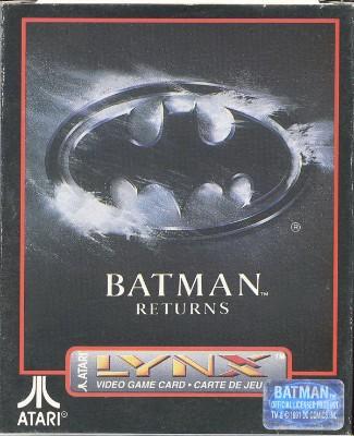 Batman Returns Cover Art