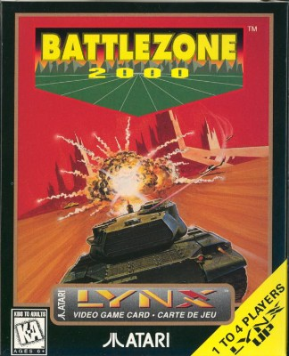 Battlezone 2000 Cover Art