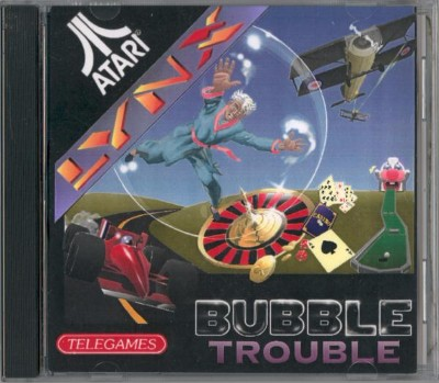 Bubble Trouble Cover Art