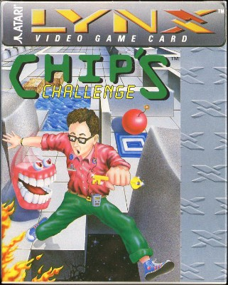 Chip's Challenge Cover Art