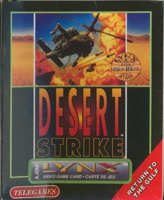 Desert Strike Cover Art