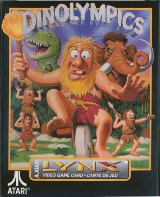 Dinolympics Cover Art