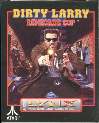 Dirty Larry: Renegade Cop Cover Art