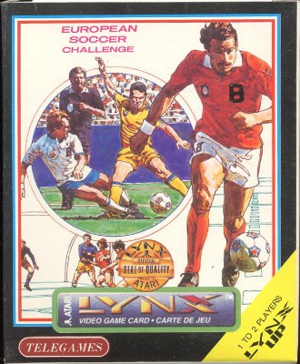 European Soccer Challenge Cover Art