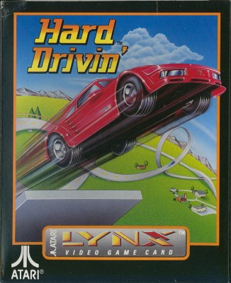 Hard Drivin' Cover Art