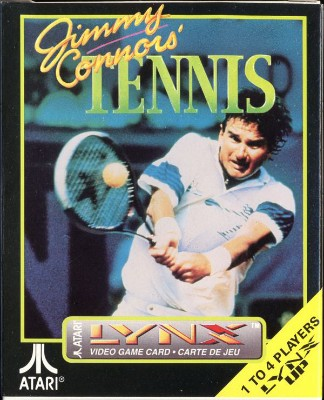 Jimmy Connors Tennis Cover Art