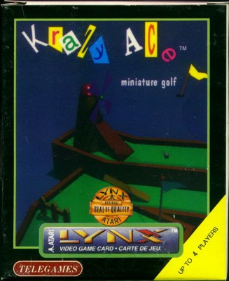 Krazy Ace Miniature Golf Cover Art