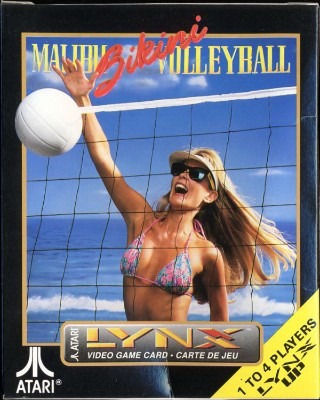 Malibu Bikini Volleyball Cover Art