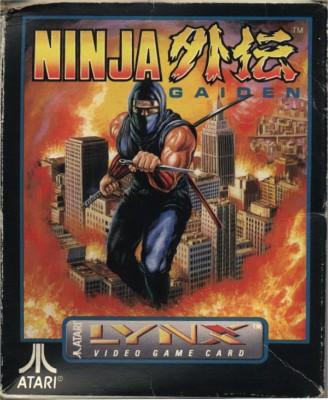 Ninja Gaiden Cover Art