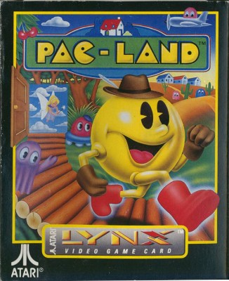 Pac-Land Cover Art