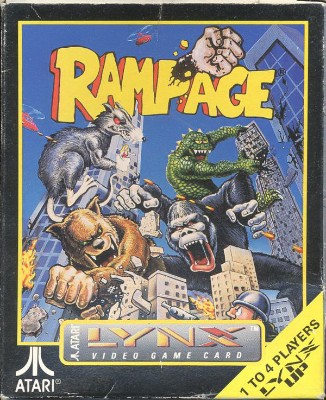 Rampage Cover Art
