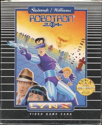 Robotron: 2084 Cover Art
