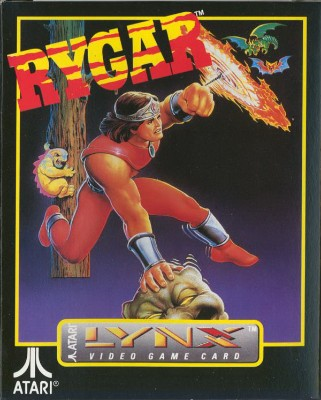 Rygar Cover Art