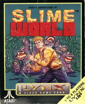 Todd's Adventure in Slime World Cover Art