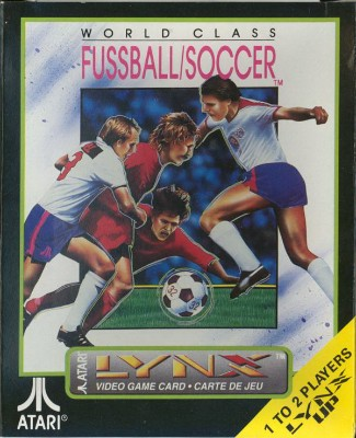 World Class Soccer Cover Art