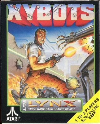 Xybots Cover Art
