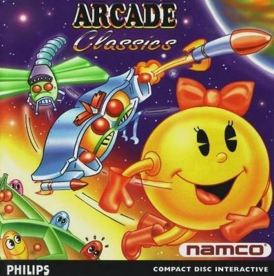 Arcade Classics Cover Art