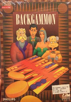 Backgammon [Long box] Cover Art