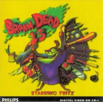 Braindead-13 Cover Art