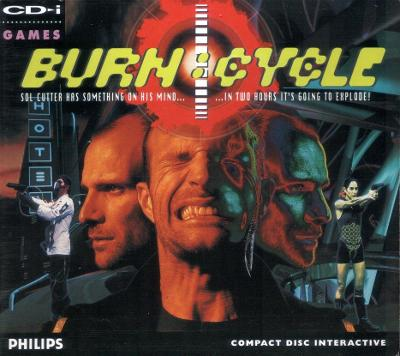 Burn: Cycle Cover Art
