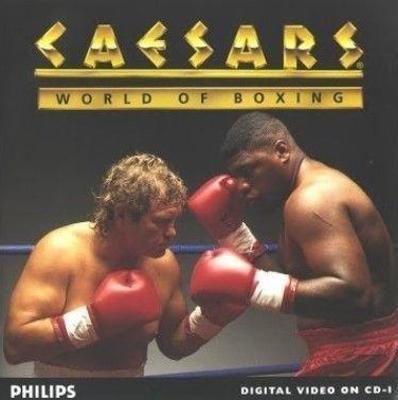Caesars World of Boxing Cover Art