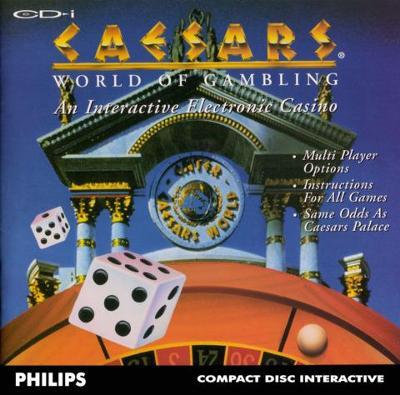 Caesars World of Gambling Cover Art