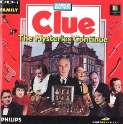 Clue: The Mystery Continues Cover Art