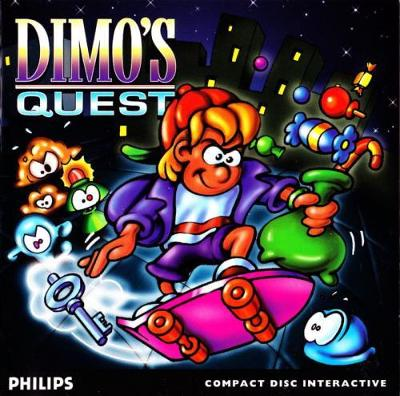 Dimo's Quest Cover Art