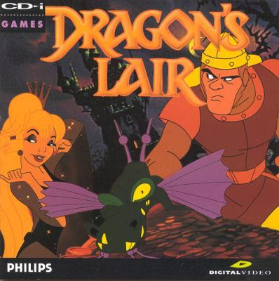Dragon's Lair Cover Art