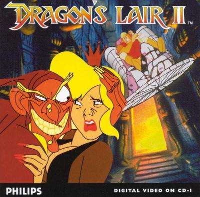 Dragon's Lair II: Time Warp Cover Art