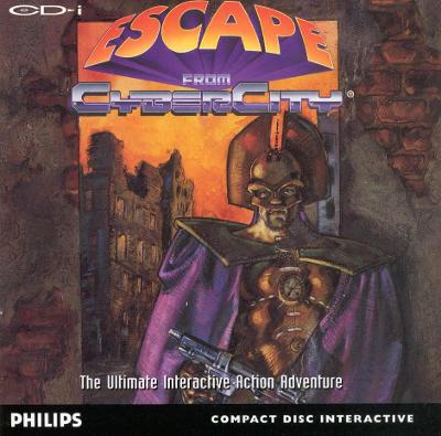 Escape from CyberCity Cover Art