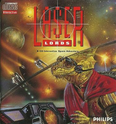 Laser Lords Cover Art