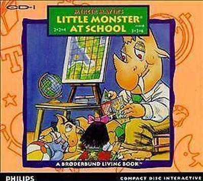 Little Monster At School Cover Art