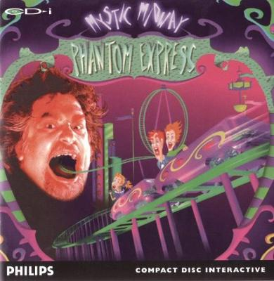 Mystic Midway: Phantom Express Cover Art