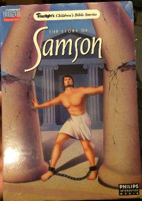 Story of Samson [Long box] Cover Art