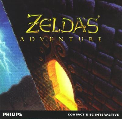 Zelda's Adventure Cover Art