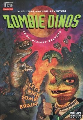 Zombie Dinos from Planet Zeltoid Cover Art