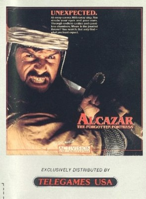 Alcazar: The Forgotten Fortress Cover Art