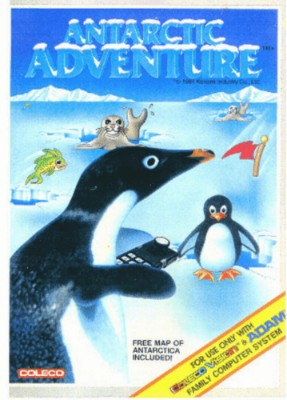 Antarctic Adventure Cover Art