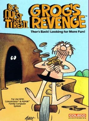 B.C.'s Quest For Tires II: Grog's Revenge Cover Art