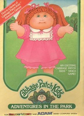 Cabbage Patch Kids: Adventures in the Park Cover Art