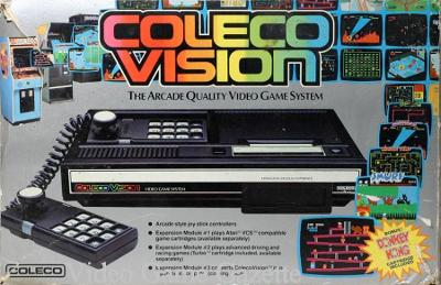 Colecovision Game Console Cover Art
