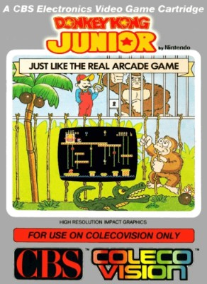 Donkey Kong Junior Cover Art