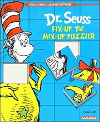 Dr. Seuss: Fix-up the Mix-up Puzzler