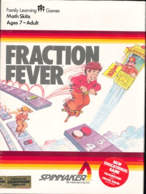 Fraction Fever Cover Art