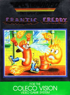 Frantic Freddy Cover Art